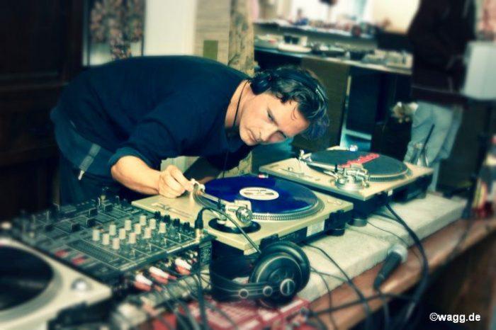 Ein meister der DJ Technik