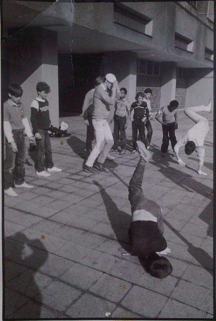 Breakdancer in der DDR
